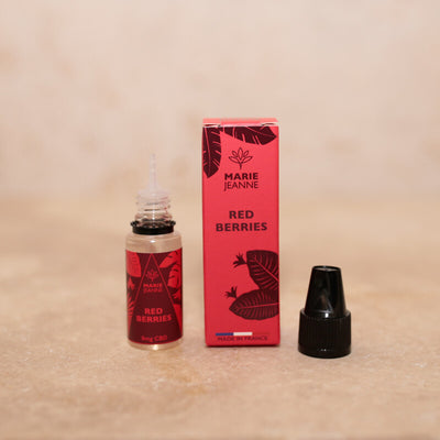 e liquide cbd <br> fruit rouge