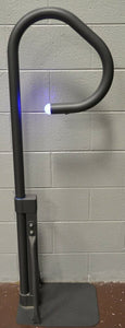 Handrail with LED light