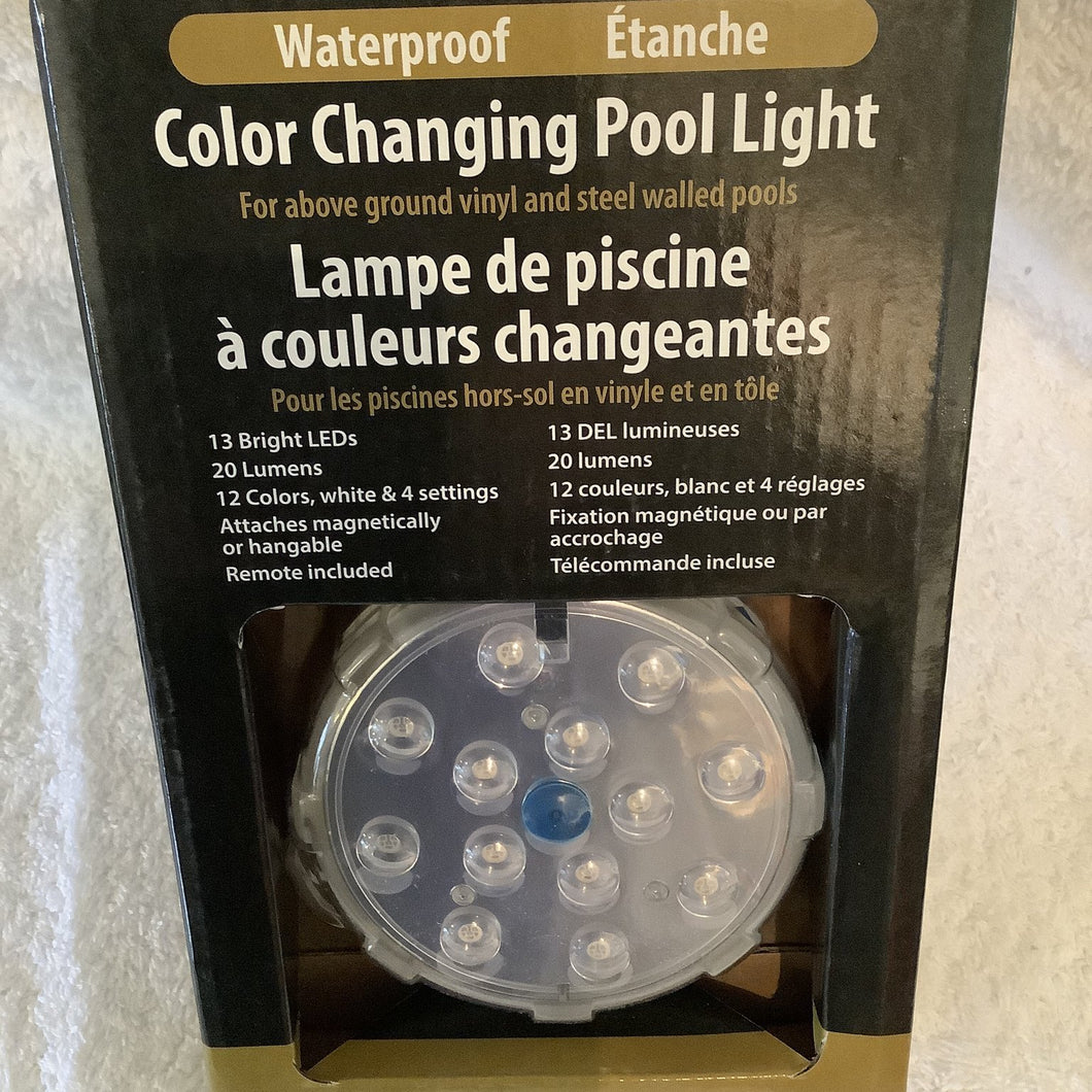 Colour Changing Hot Tub Light