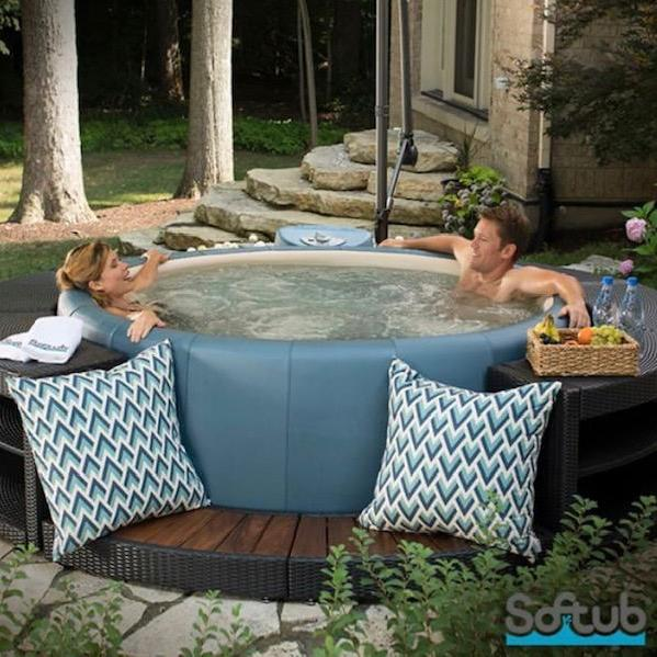 Softub Surround - Rattan