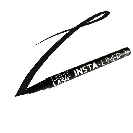 Light Lash 2-in-1 Insta-Liner Adhesive Pen - Black