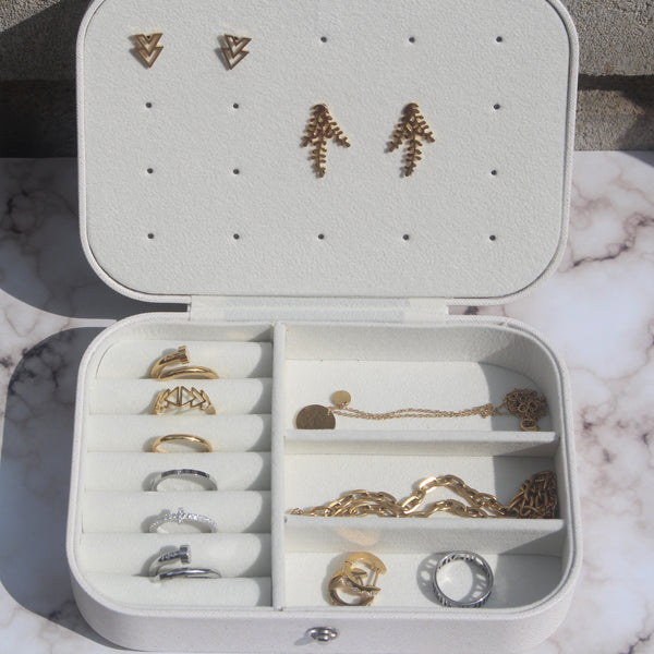 Wanderlust Jewelry Storage Box