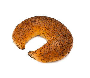 Crescent with Poppy Seeds 3PK