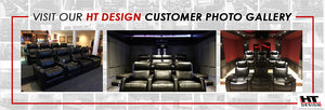 ht design theater seating customer photo gallery