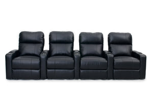 HT Design Easthampton Home Theater Seating Row of 4
