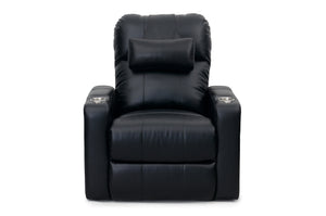 HT Design Easthampton Home Theater Seating Recliner with Optional Pillow