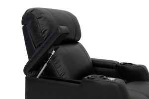 HT Design Belmont Home Theater Seating In Arm Storage