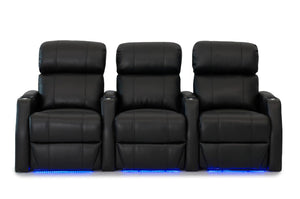HT Design Belmont Home Theater Seating Row of 3