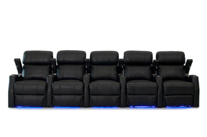 HT Design Belmont Home Theater Seating Row of 5
