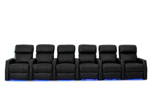 HT Design Belmont Home Theater Seating Row of 6