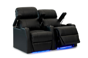 HT Design Belmont Home Theater Seating Row of 2