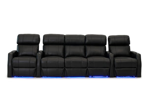 HT Design Belmont Home Theater Seating Row of 5 with Sofa