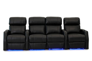 HT Design Belmont Home Theater Seating Row of 4 Middle Loveseat