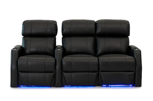 HT Design Belmont Home Theater Seating Row of 3 RF Loveseat