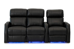 HT Design Belmont Home Theater Seating Row of 3 LF Loveseat