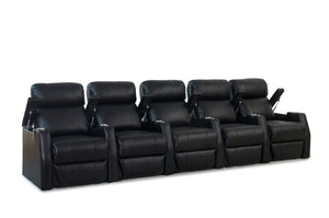 ht design paget theater seating row of 5