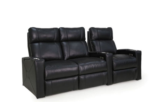 HT Design Addison Home Theater Seating Row of 3 LF Loveseat