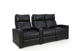 HT Design Addison Home Theater Seating Row of 3 RF Loveseat