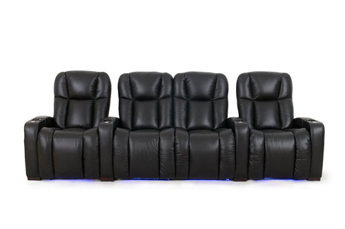 ht design hamilton home theater seating row of 4 middle loveseat