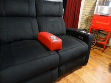Load image into Gallery viewer, ht design portable armrest on addison microfiber seating
