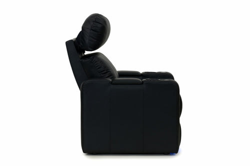 ht design pembroke home theater seating with power headrest recliner