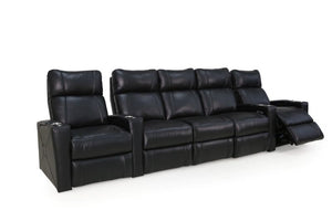 HT Design Addison Home Theater Seating Row of 5 with Sofa