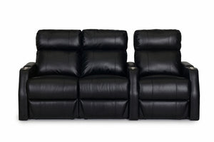 ht design paget theater seating row of 3 lf loveseat