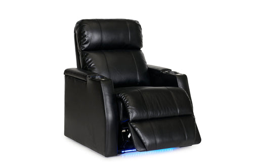 HT Design Paget Home Theater Seating 2 Arm Recliner