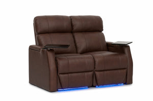 HT Design Warwick Home Theater Seating Row of 2 Loveseat