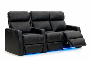 HT Design Warwick Home Theater Seating Row of 3 RF Loveseat