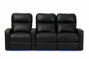 HT Design Southampton Home Theater Seating Row of 3 RF Loveseat