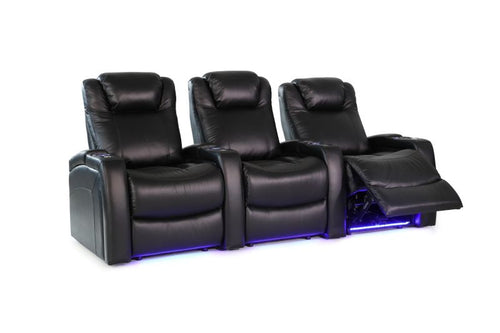 HT Design Sheffield Home Theater Seating Row of 3