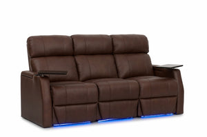 HT Design Warwick Home Theater Seating Row of 3 Sofa