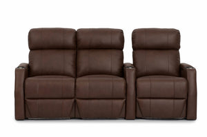 HT Design Warwick Home Theater Seating Row of 3 LF Loveseat