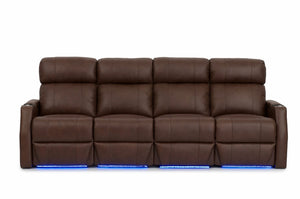 HT Design Warwick Home Theater Seating Row of 4 Sofa