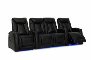 HT Design Somerset Home Theater Seating Row of 4 Middle Loveseat