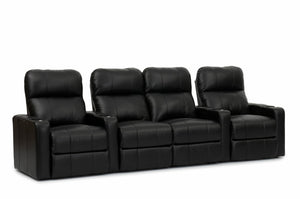 HT Design Southampton Home Theater Seating Row of 4 Middle Loveseat