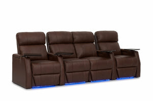 HT Design Warwick Home Theater Seating Row of 4 Middle Loveseat