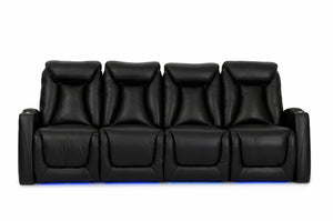HT Design Somerset Home Theater Seating Row of 4 Sofa