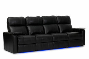 HT Design Southampton Home Theater Seating Row of 4 Sofa