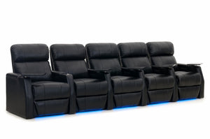 HT Design Warwick Home Theater Seating Row of 5