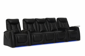 HT Design Somerset Home Theater Seating Row of 5 with Sofa