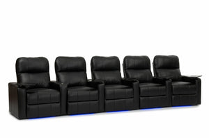 HT Design Southampton Home Theater Seating Row of 5