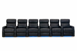 HT Design Warwick Home Theater Seating Row of 6
