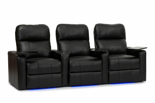 HT Design Southampton Home Theater Seating Row of 3