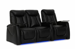 HT Design Somerset Home Theater Seating Row of 3 LF Loveseat