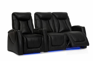 HT Design Somerset Home Theater Seating Row of 3 RF Loveseat