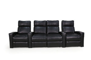 HT Design Addison Home Theater Seating Row of 4 Middle Loveseat