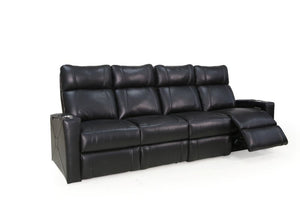 HT Design Addison Home Theater Seating Row of 4 Sofa