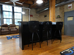 home theater swivel bar stools and bar